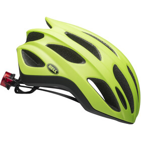 Bell Formula Led MIPS Helm matte/gloss bright green/black